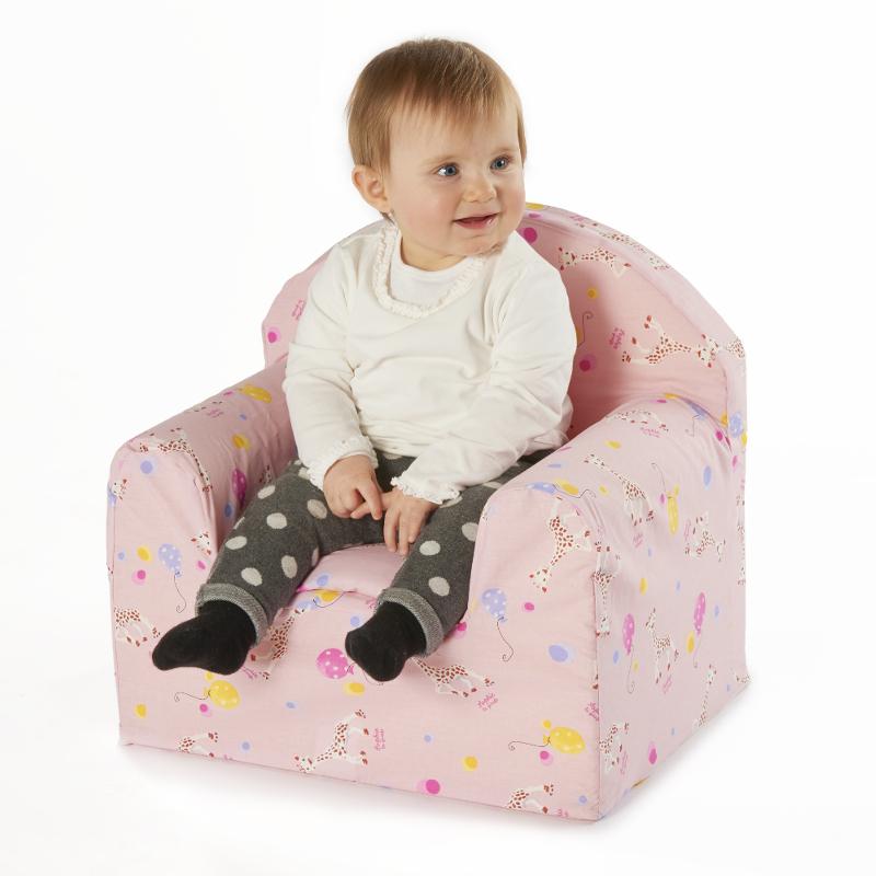 115 Kindersessel Sophie la girafe, rosa