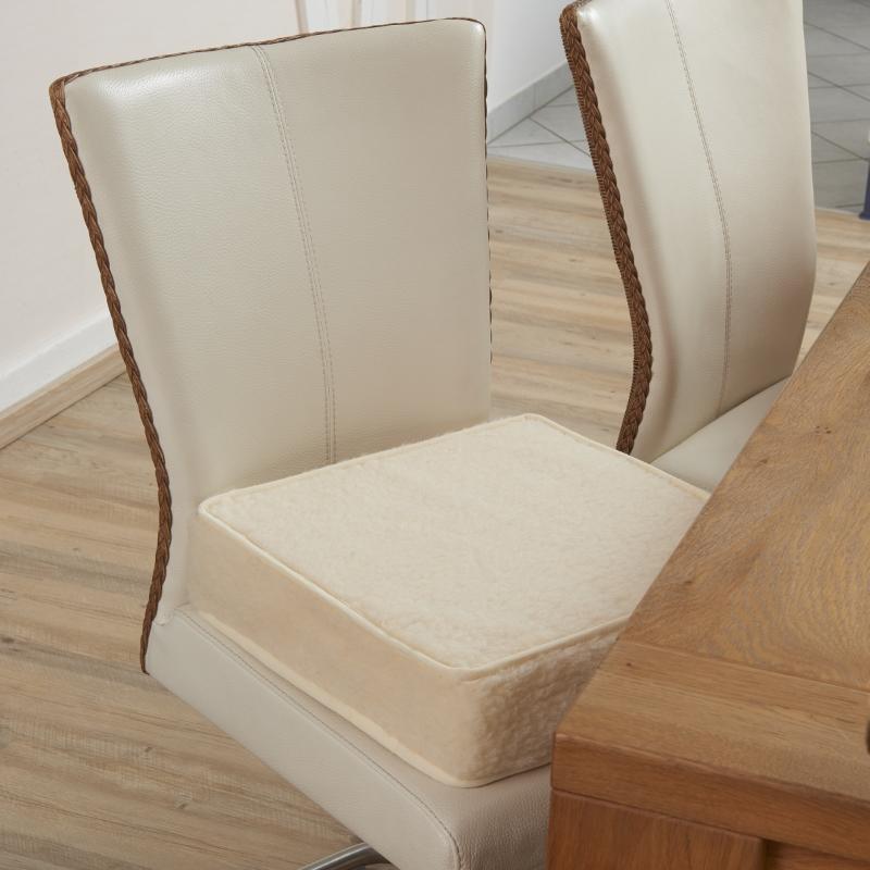 70410 Schurwoll-Aufstehhilfe für Stühle, natur