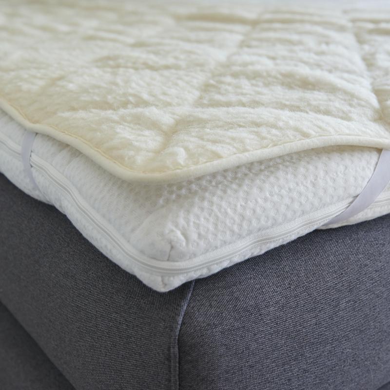 7760 Schurwoll-Komfort-Matratzenauflage