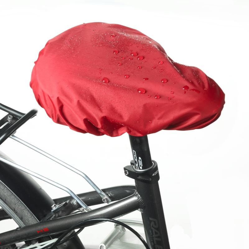 """832 Schurwoll-Fahrradsattelbezug """"2 in 1"""", wasserabweisende Seite"""