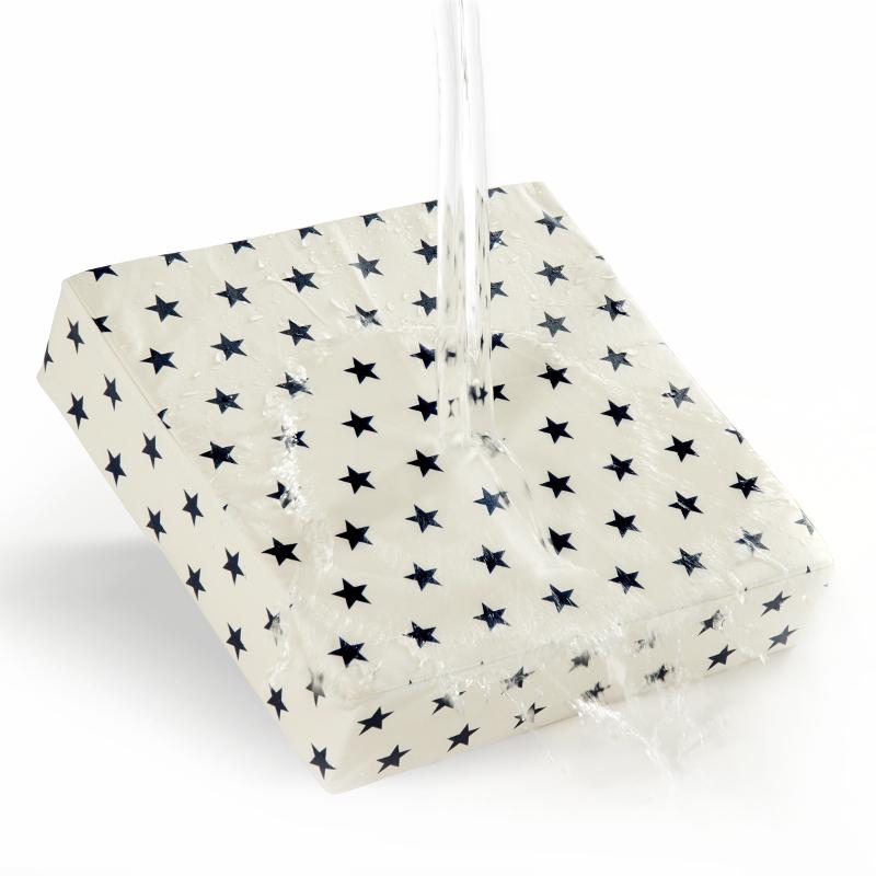 Sitzerhöhung für Kinder mit Sternen, abwaschbar